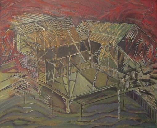 Saif Osmani_Baasher Ghor-Bamboo House